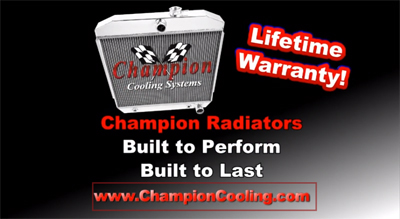 Champion Cooling Aluminum Radiator Overview